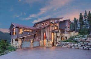 Rustic Modern Copper Mountain Home