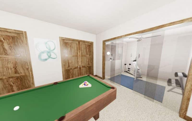 Pool_table_Exercise_room