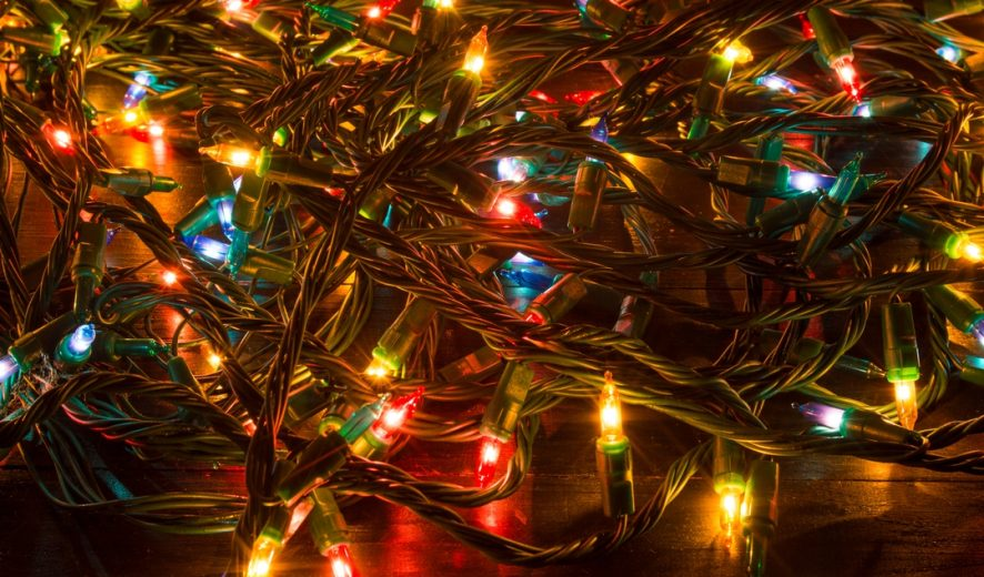 How to recycle your Christmas lights