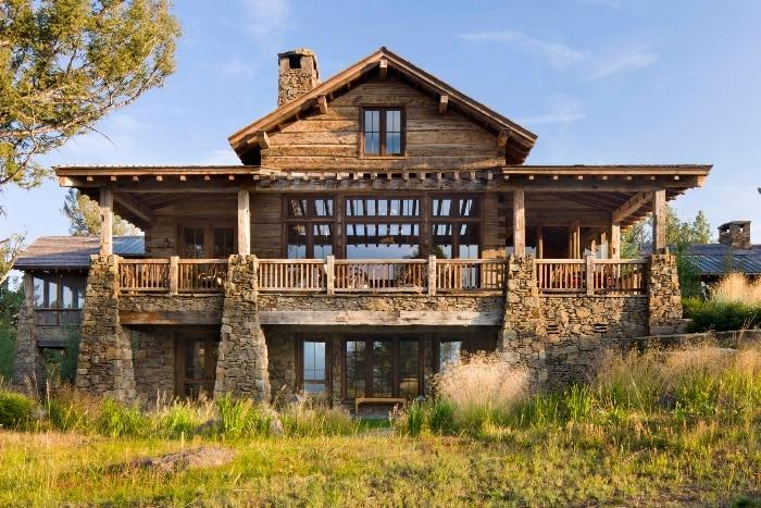 lodge with mountain views