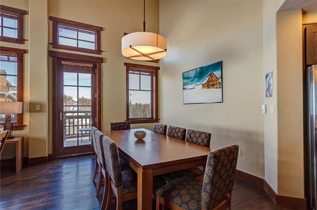 1521 Ski Hill Road #8424 Dining Room