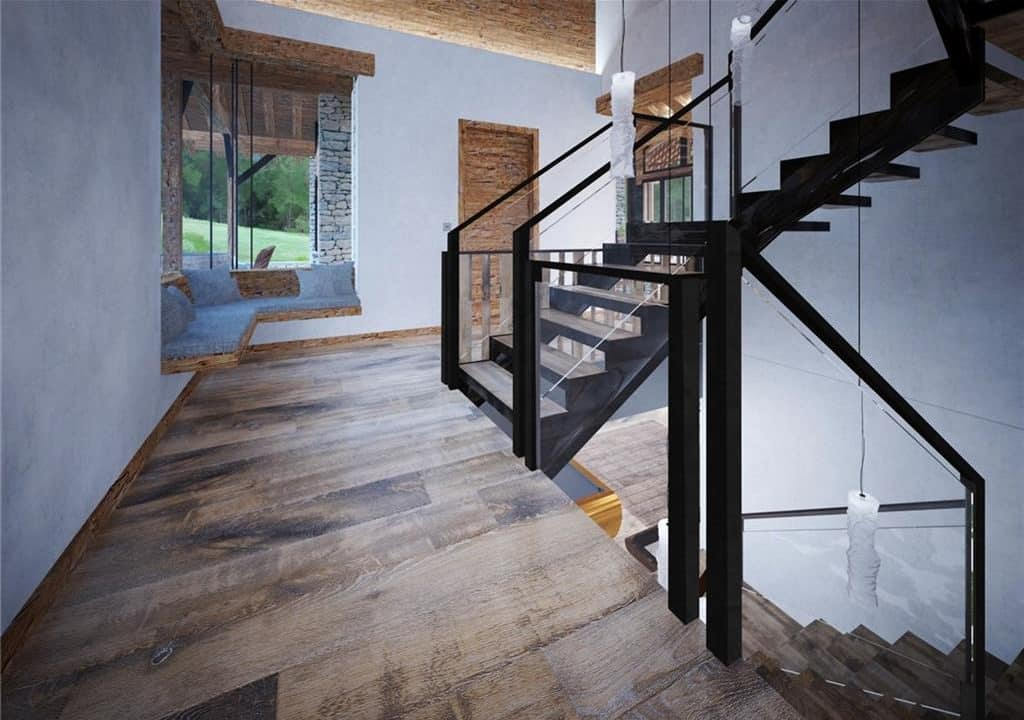 256 Timber Trail Road Stairs