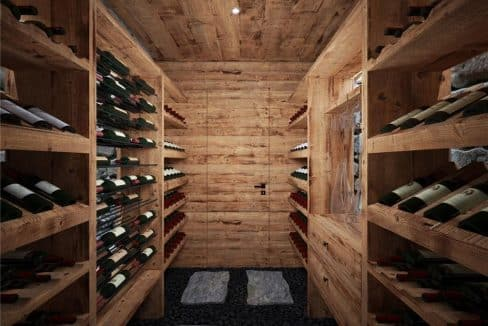 256 Timber Trail Road Wine Room