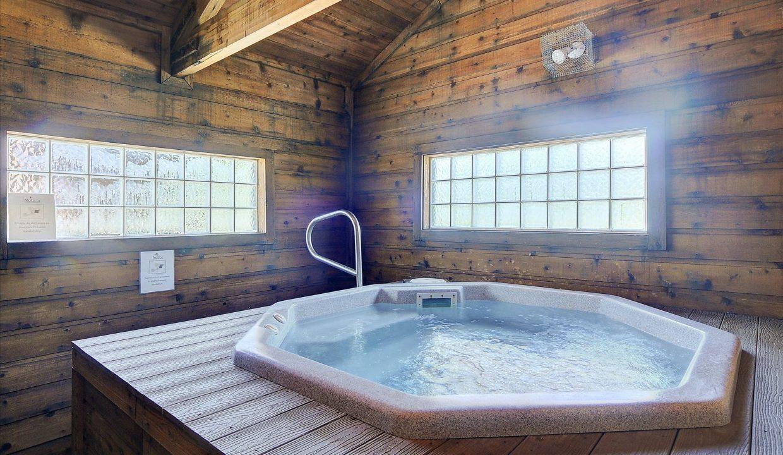 17 Skyline Hot tub